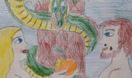 Сътворението на света в рисунки на петокласници